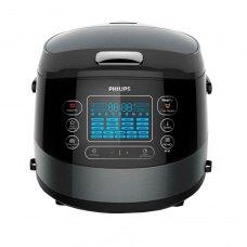 Мультиварка PHILIPS HD4749/03 чаша 5л., 22 програми з 3D нагрівом, потужність: 1070 Вт, колір: чорний