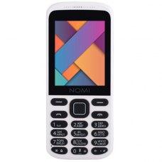 Мобiльний телефон Nomi i244 White-Red