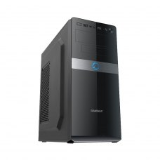 Корпус GameMax MT517-450W (MT517-450W) Miditower Tower, ATX, чорний, 450Вт, 2*USB, Audio