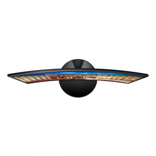 Монітор, Samsung Curved C24F390F (LC24F390FHIXCI), 23.5, VA, 1920x1080, 60Гц