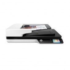 Сканер HP Scan Jet Pro 4500 f1 Network (L2749A) CIS, 1200х1200 dpi, 24 бит, 8 бит, RJ45, USB, OS X, Windows