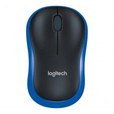 Мишка бездротова, Logitech M185 Blue (910-002239)