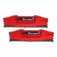 Модуль пам'яті DDR-4 16GB KIT(2*8GB)  PC4-24000 (PC4-3000) Ripjaws V (Red colour)  G.skill  Original