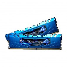 DDR-4 16GB KIT(2*8GB)  PC4-24000 (PC4-3000) Ripjaws V (Blue colour) G.skill  Original