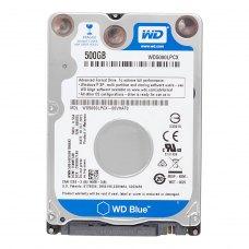 Внутрішній жорсткий диск 2.5 500GB WD (WD5000LPCX) SATA III, 5400 об/хв, 16 MB, Blue