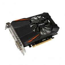Відеокарта Gigabyte GeForce GTX1050 Ti 4096Mb  (GV-N105TD5-4GD) GDDR 5, 128 Bit, 1316 MHz, 7008 MHz, DisplayPort, DVI, HDMI, кулер, радіатор