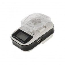Універсальний ЗП Євро  LCD+USB