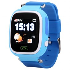 Смарт годинник дитячий (GPS Tracker) Q90 (Blue)