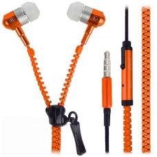 Навушники  Змійка (ZIP), Orange