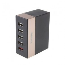 МЗП Remax USB Charger Business Version RU-U1 (5 ports, 6.2A), Gold