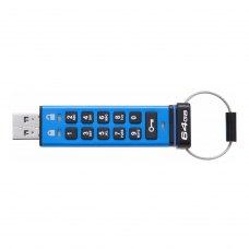USB флеш Kingston 64 GB DataTraveler 2000 Metal Security (DT2000/64GB)