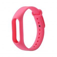 Браслет для Xiaomi Mi Band 2 (silicone) Pink