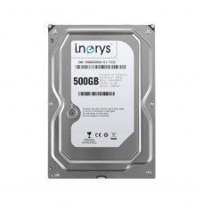 Внутрішній жорсткий диск  3.5 500GB i.norys (INO-IHDD0500S2-D1-7232) SATA, 7200 об/хв, 32 MB