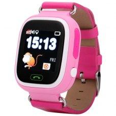 Смарт годинник дитячий (GPS Tracker) Q90 (Pink)