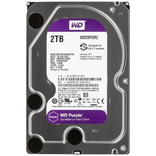 Жорсткий диск 3.5 Western Digital Purple 2TB (WD20PURZ)