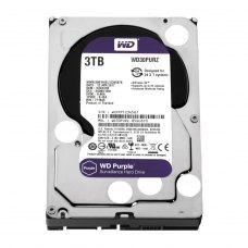 Внутрішній жорсткий диск 3,5 3Tb WD (WD30PURZ) SATA III 5400 64Mb Digital Purple