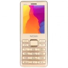 Мобiльний телефон Nomi i241 + Gold