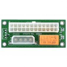 Адаптер-синхронізатор блоків живлення Dynamode ATX 24 Pin to Molex 4 Pin (ADD2PSU)
