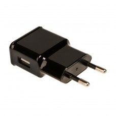 МЗП Grand-X USB 5V 1A (CH-765UMB) + micro usb із захистом від перевантаження, Black