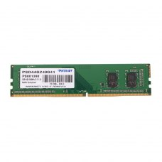 Модуль памяті, DDR4, 4GB, 2400MHz, Patriot Signature Line (PSD44G240041)