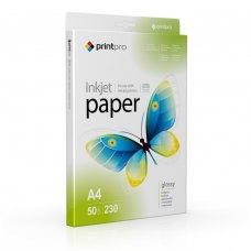 Папір PrintPro глянц. 230г/м, A4 PG230-50