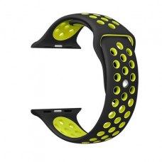Ремінець Nike Watch Band for Apple Watch 42mm Black/Volt