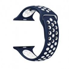 Ремінець Nike Watch Band for Apple Watch 42mm Navy Blue/White