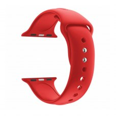 Ремінець Silicone Watch band for Apple Watch 42/44 mm Red