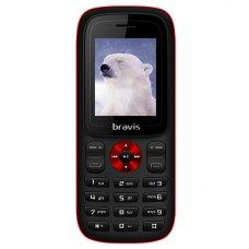 Мобільний телефон Bravis C180 Jingle Black