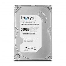 Внутрішній жорсткий диск  3.5 500GB i.norys (INO-IHDD0500S2-D1-5908) SATA, 5900 об/хв, 8 MB