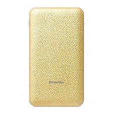 Зовнішній акумулятор PowerBank ColorWay 8000mAh Gold