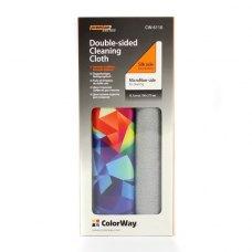 Чистячий засіб, ColorWay (CW-6110A), Double-sided багатофункціональна, двохстороння салфетка