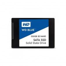 Накопичувач SSD 2.5 Western Digital Blue 250GB SATAIII 3D TLC (WDS250G2B0A)