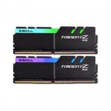 Модуль памяті DDR4 16GB (2x 8GB) 3200MHz G.Skill Trident Z RGB (F4-3200C16D-16GTZR)