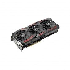 Відеокарта ASUS GeForce GTX1080 8192Mb ROG STRIX GAMING (STRIX-GTX1080-8G-GAMING) GDDR5X, 256 Bit, 1632 MHz, 10010 MHz, 2 x DisplayPort, 2 х HDMI, DVI