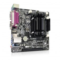 Материнська плата ASRock J3455B-ITX mITX, З вбудованним процесором, Intel, Intel Celeron Quad-Core J3455 SoC, Intel, SO-DIMM DDR3, 16GB, Intel HD Grap