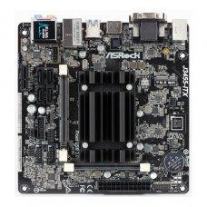Материнська плата ASRock J3455-ITX mITX, З вбудованним процесором, Intel, Intel Celeron Quad-Core J3455 SoC, Intel, SO-DIMM DDR3, 16GB, Intel HD Graph