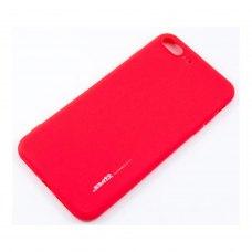 Накладка силіконова SMTT iPhone 7 Plus/8 Plus red